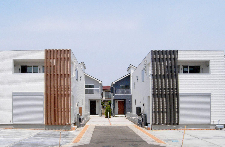 シンプルモダンスタイルのcube House ラビングホーム山口企画設計東京