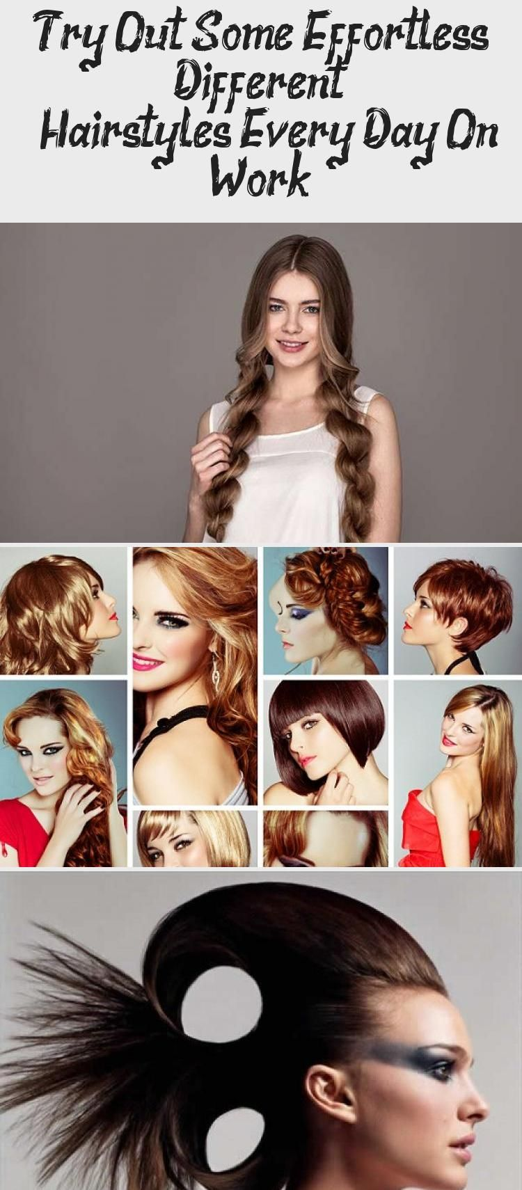 Try Out Some Effortless Different Hairstyles Every Day On Work 7 Easy Everyd In 2020 Cute Hairstyles For Short Hair Short Hairstyles For Thick Hair Thick Hair Styles