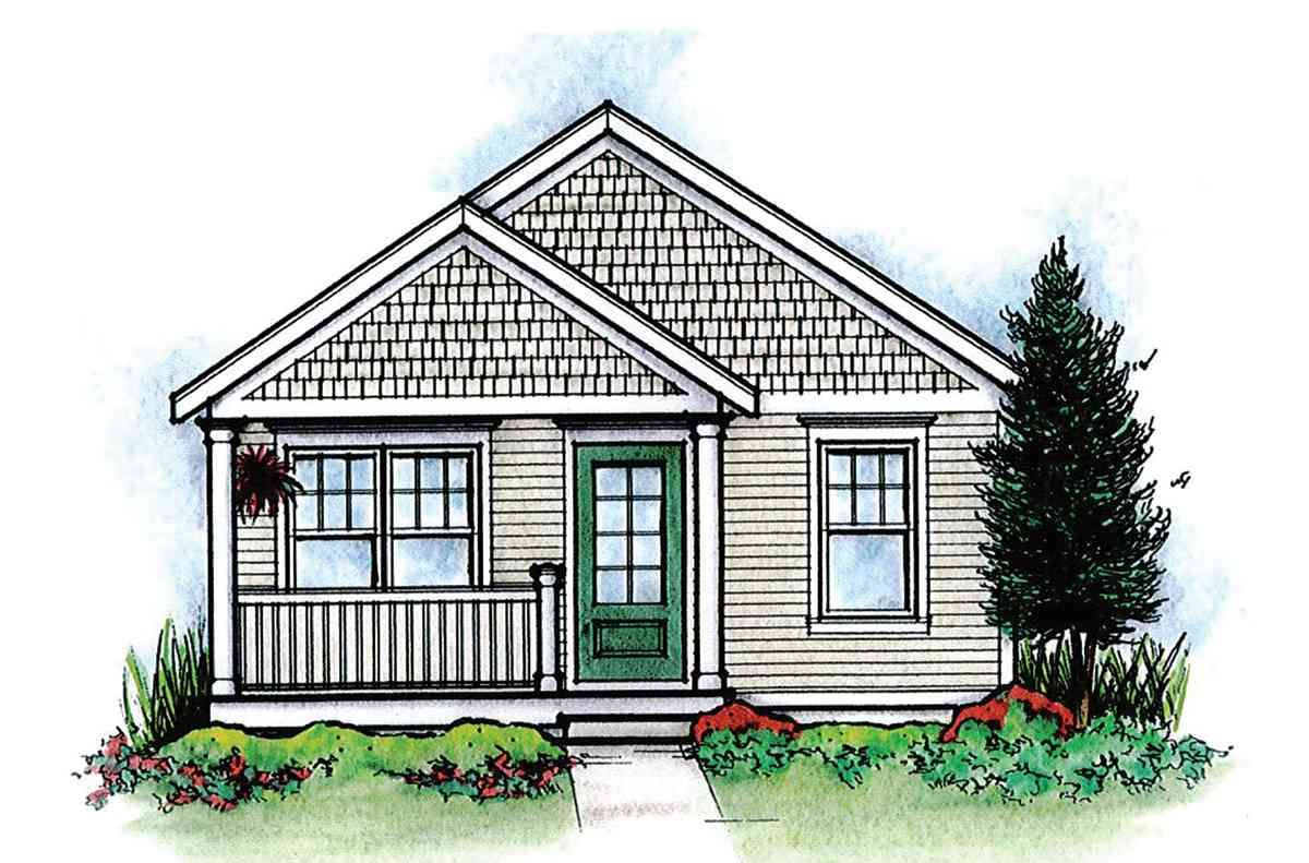 Plan 42332db Cozy 2 Bed Tiny House Plan House Plans