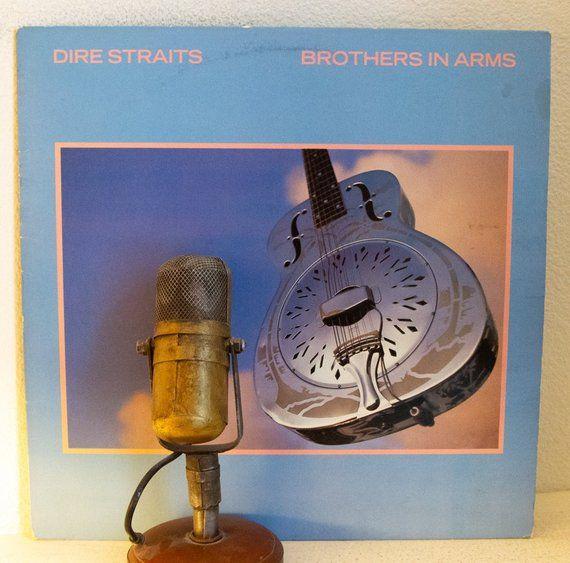 Dire Straits Record Album 1980s Pop Rock Vinyl Lp Dire Straits