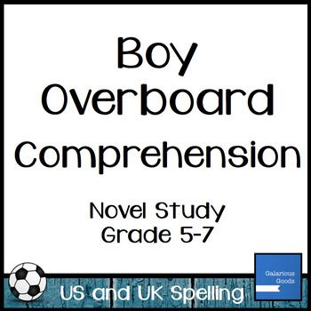 High School Persuasive Essay Boy Overboard Comprehension Teaching Ideas Teaching Resources  Comprehension Questions Readers Workshop Literacy Essays On Science And Religion also Argumentative Essay Topics For High School Boy Overboard Comprehension  Galarious Goods  Resources For  Example Of A Thesis Statement In An Essay