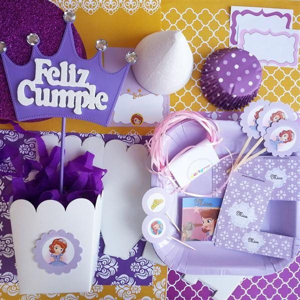 candy bar princesita sofia decoracion cotilln fiestas y cumpleaos
