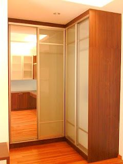 L Shape Wardrobe