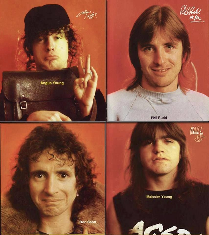 Ac Dc The Bon Scott Years Bon Scott Acdc