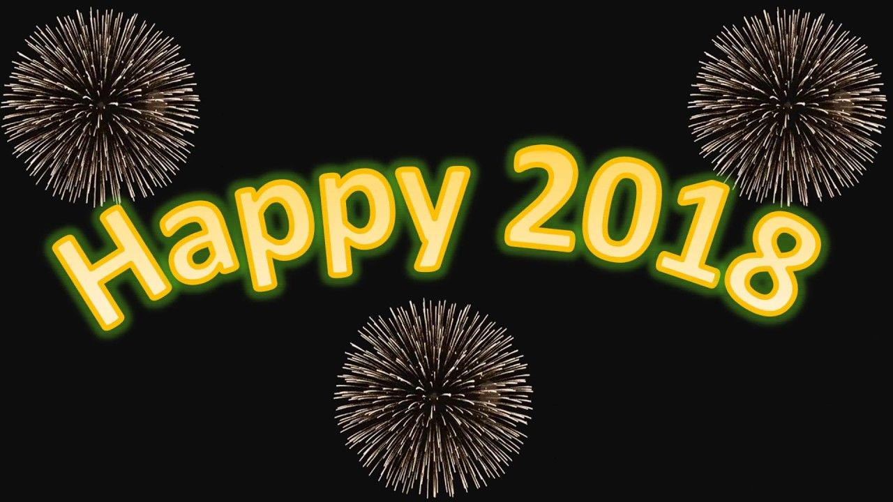 Imgenes De Happy New Year 2018 Wishes Animation Videos