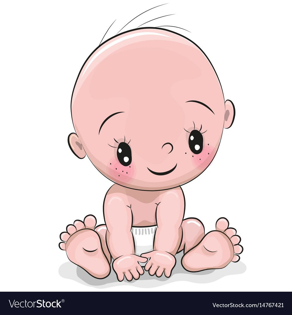 Cute Cartoon Baby Boy Isolated On A White Background Download A Free Preview Or High Quality Adobe Illustrator Ai Baby Cartoon Cute Cartoon Cute Cartoon Girl