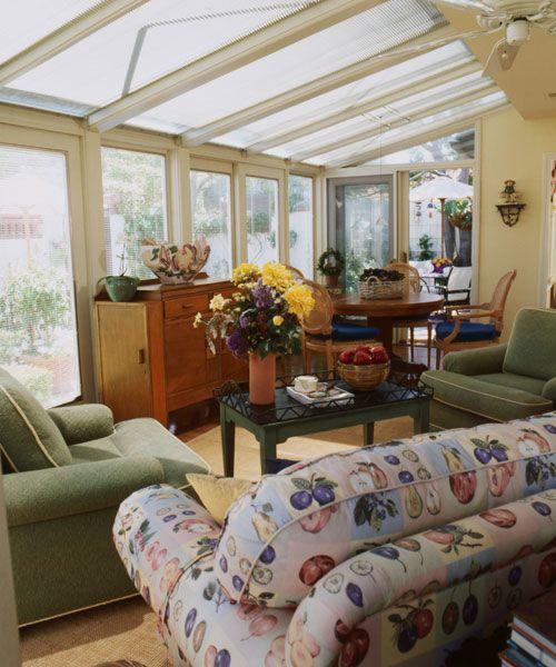 Interior Sunroom Addition Ideas: 20 Sunroom Decorating Ideas That'll Brighten Your Space