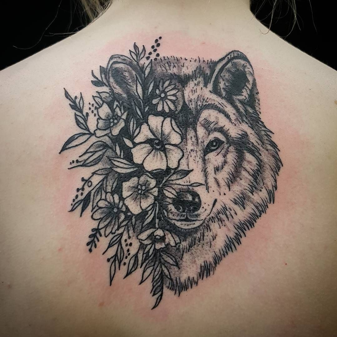 Mandala Wolf Tattoo Designs For Women I Like The: I Would Love Something Like This But A Different Animal