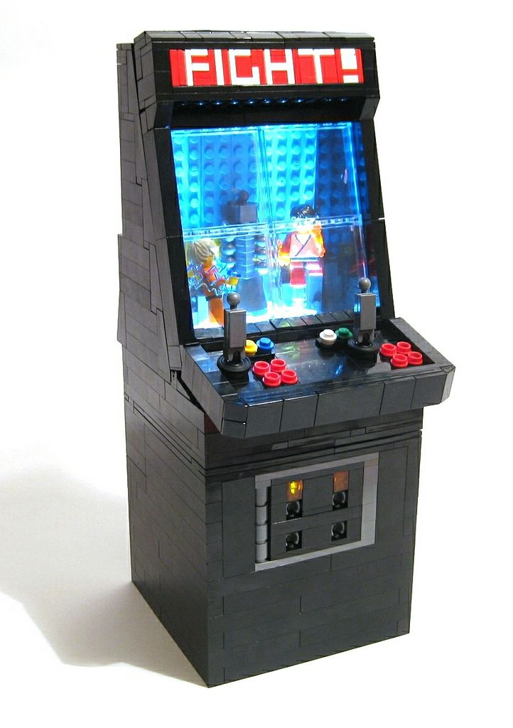 Lego arcade console select start for Consolle lago