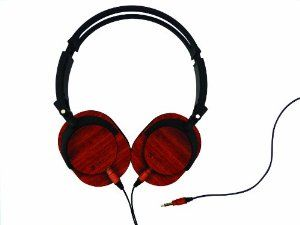 Audio Bubinga Amazon Device Accessories Tribeca Genuine Wood Aviator Headphones for Kindle Fire HD