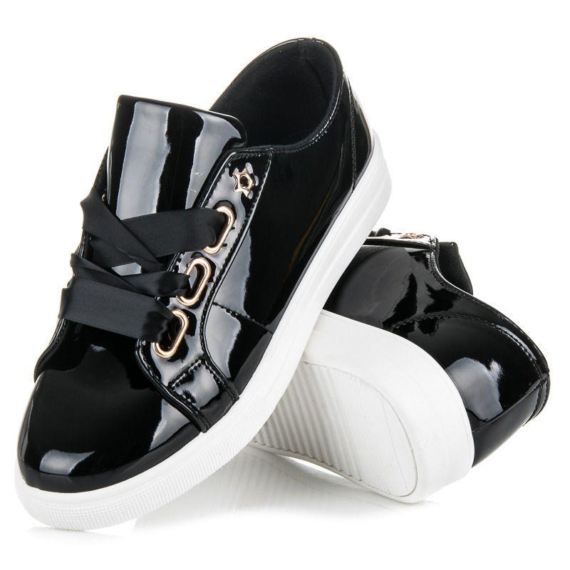 Lakierowane Trampki Ze Wstazka Sneakers Shoes Puma Sneaker