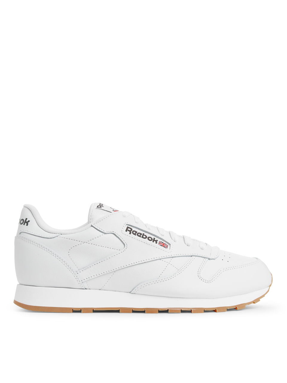 Reebok Classic Leather Trainers In White 49799 Men [1096790