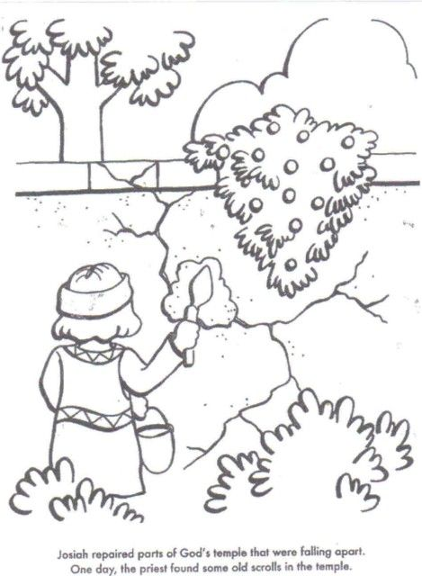 preschool bible lessons coloring pages - photo#38