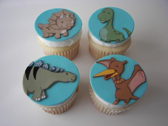 Awesome! These remind me of Land Before Time = One of my all-time favorite childhood movies!