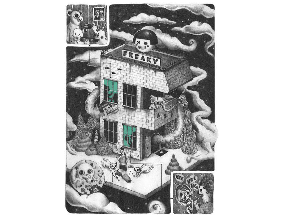 Freda chiu is a freelance illustrator artist and graphic