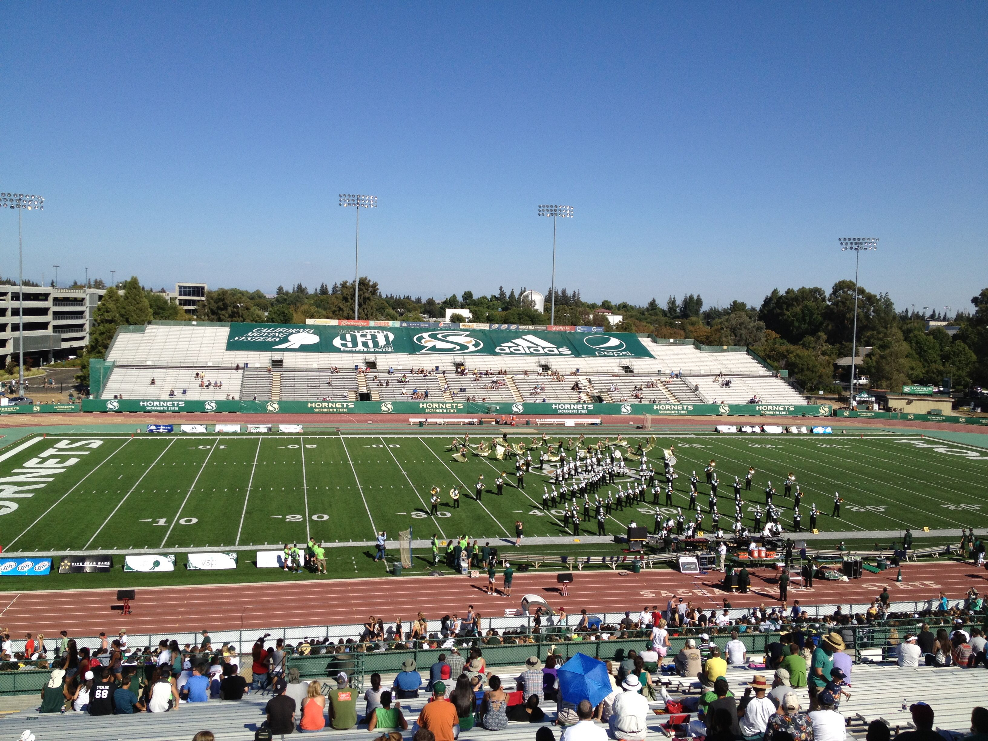 Hornet Stadium Sacramento State University Sacramento Ca Sacramento State Stadium Football Stadiums
