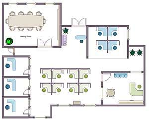 Office Building Floor Plans Example 1 Office Layout Plan Office Floor Plan Office Layout