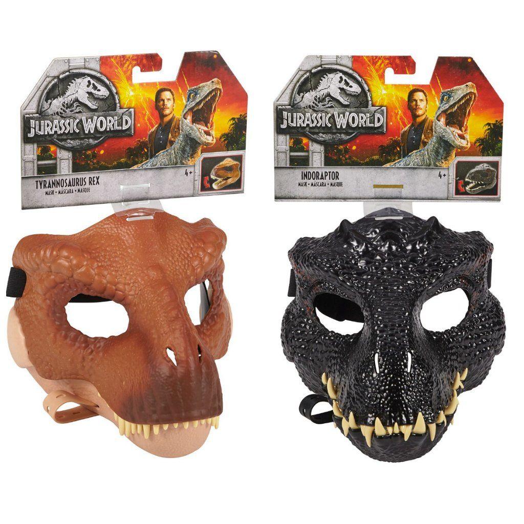 grande sélection vente chaude authentique nouveau style de 2019 Set of 2 - Jurassic World Tyrannosaurus Rex Mask #FLY93 ...