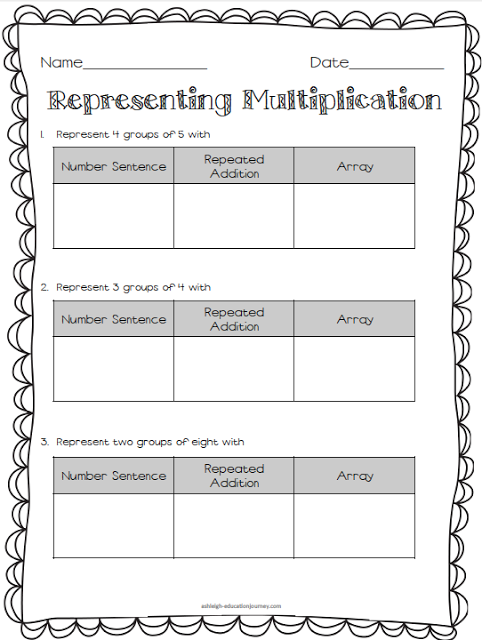 Multiplication & Division Freebies   ThirdGradeTroop.com   Pinterest ...