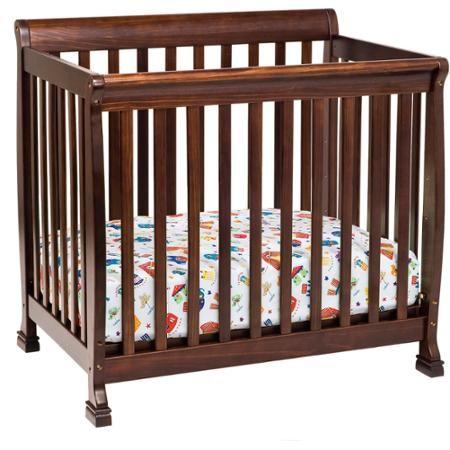 Davinci Baby Kalani M5598q Convertible New Zealand Pine Wood Traditional Crib Brown Walmart Com Mini Crib Cribs Convertible Crib