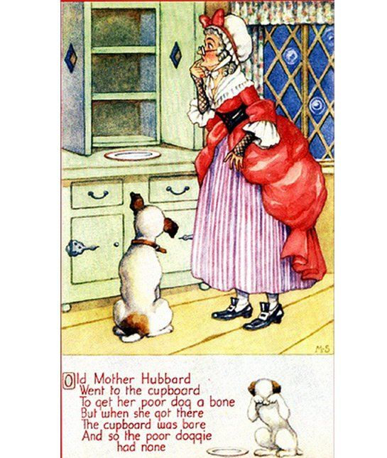 Old Mother Hubbard Isn T About A Woman At All This Rhyme Is About Cardinal Thomas Wolsey And The Demise Of His Pol Old Mother Hubbard Nursery Rhymes Hubbard