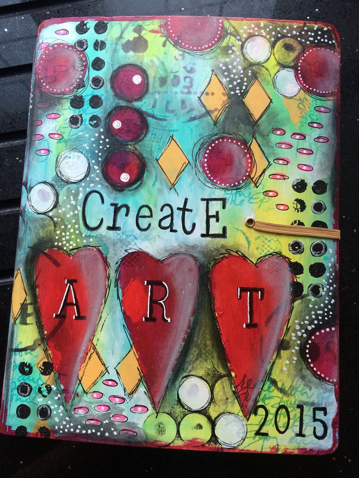 New dylusions journal ready for 2015