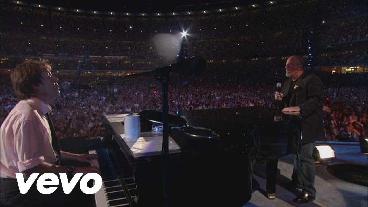 Billy Joel Let It Be Live At Shea Stadium July 2008 Ft Paul Mccartney Billy Joel Paul Mccartney Singing Videos