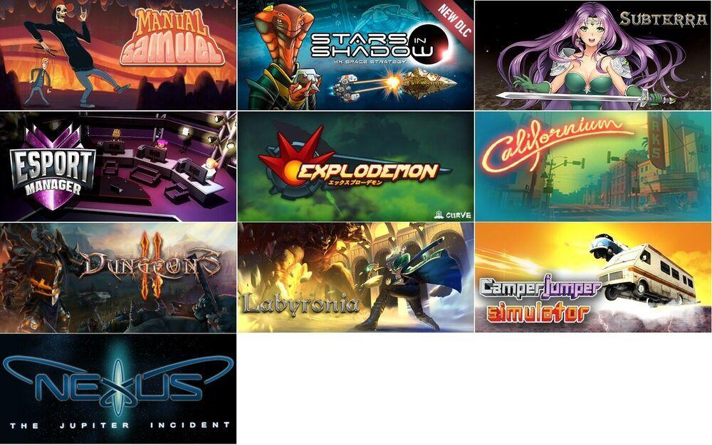 Indie Games Bundle 10 Genuine Steam Key Games Digital