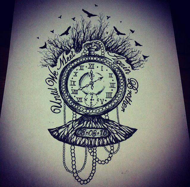 Feminine Tree Of Life Memorial Tattoo Timepiece Memorial Tattoo Tattoos Memorial Tattoos