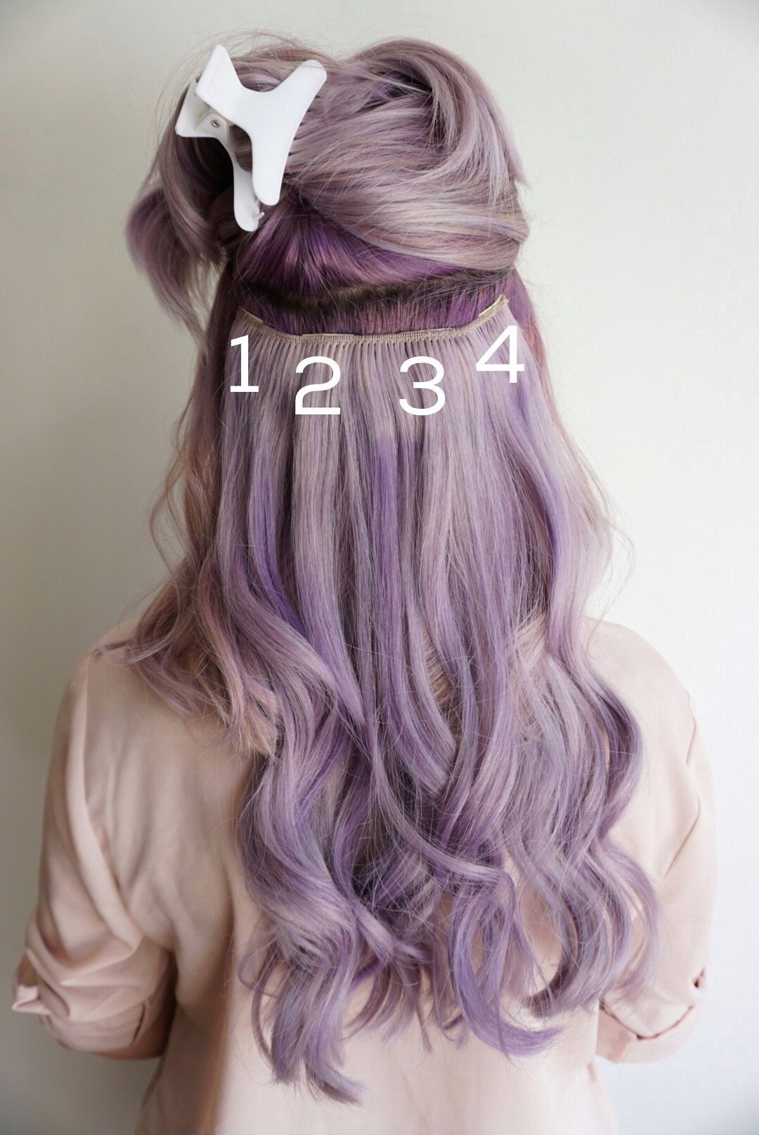 Clip In Hair Extensions Tips Hair Pinterest Hair Extensions