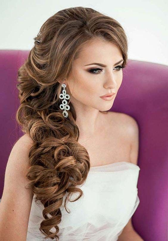 Pleasant Beautiful Bridal Updo Hairstyle 2017 Latest Hairstyle Hairstyle Inspiration Daily Dogsangcom