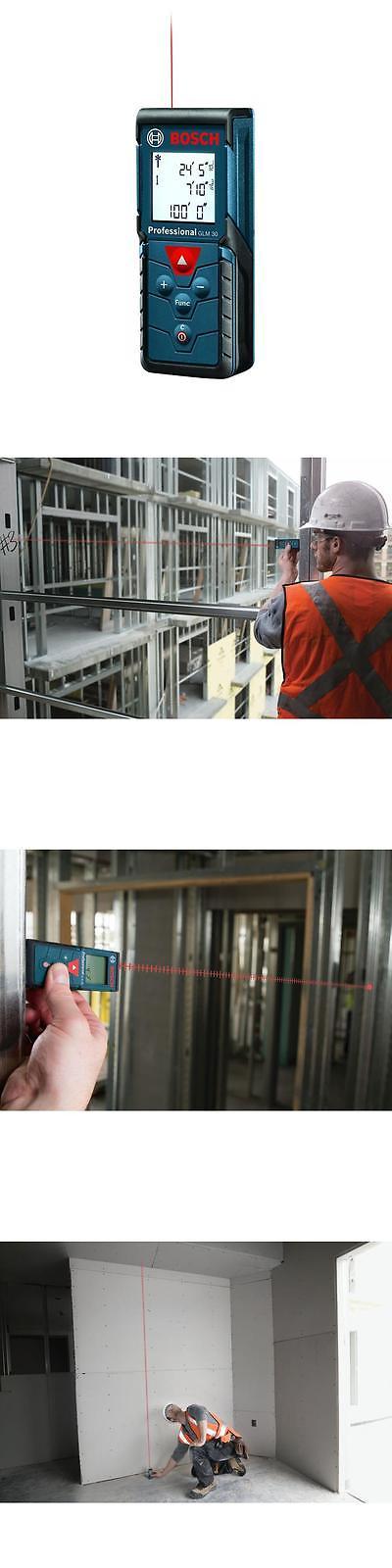Bosch 100 Ft Laser Tape Measure Meter Range Digital Professional Distance