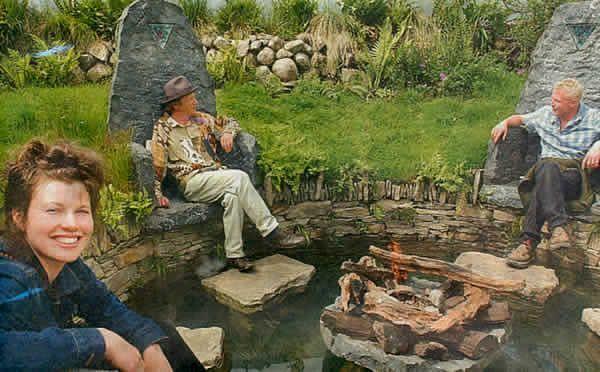 Mary reynolds on the left irish landscape designer for for Irish garden designs