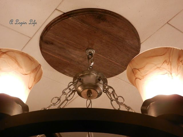 Barn Wood Ceiling Medallion You Can Make One Too Barn Wood Ceiling Rustic Ceiling Medallions Ceiling Medallions