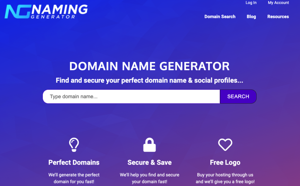 How Important Is It To Match Your Company Name With Your Domain Name In 2020 Domain Name Generator How To Memorize Things Simple Website