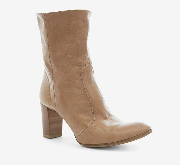 Barneys New York CO-OP Camel Boot