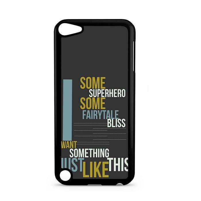 Lyric like this lyrics : Something Just Like This Lyrics Ipod Touch 5 Case | iPod Touch and ...