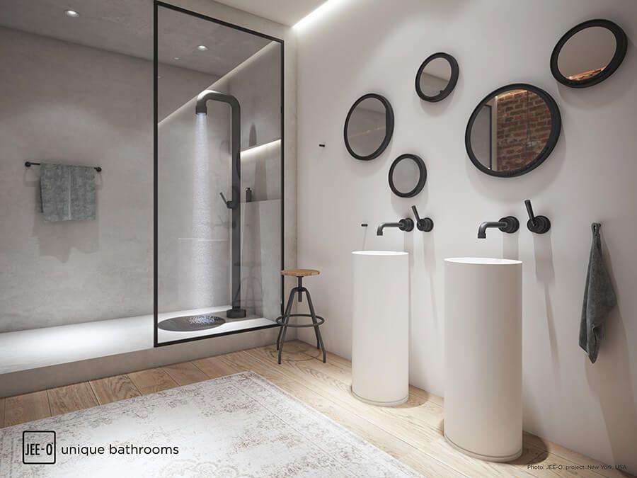 Zwarte Kraan Badkamer : Excellence badkamers