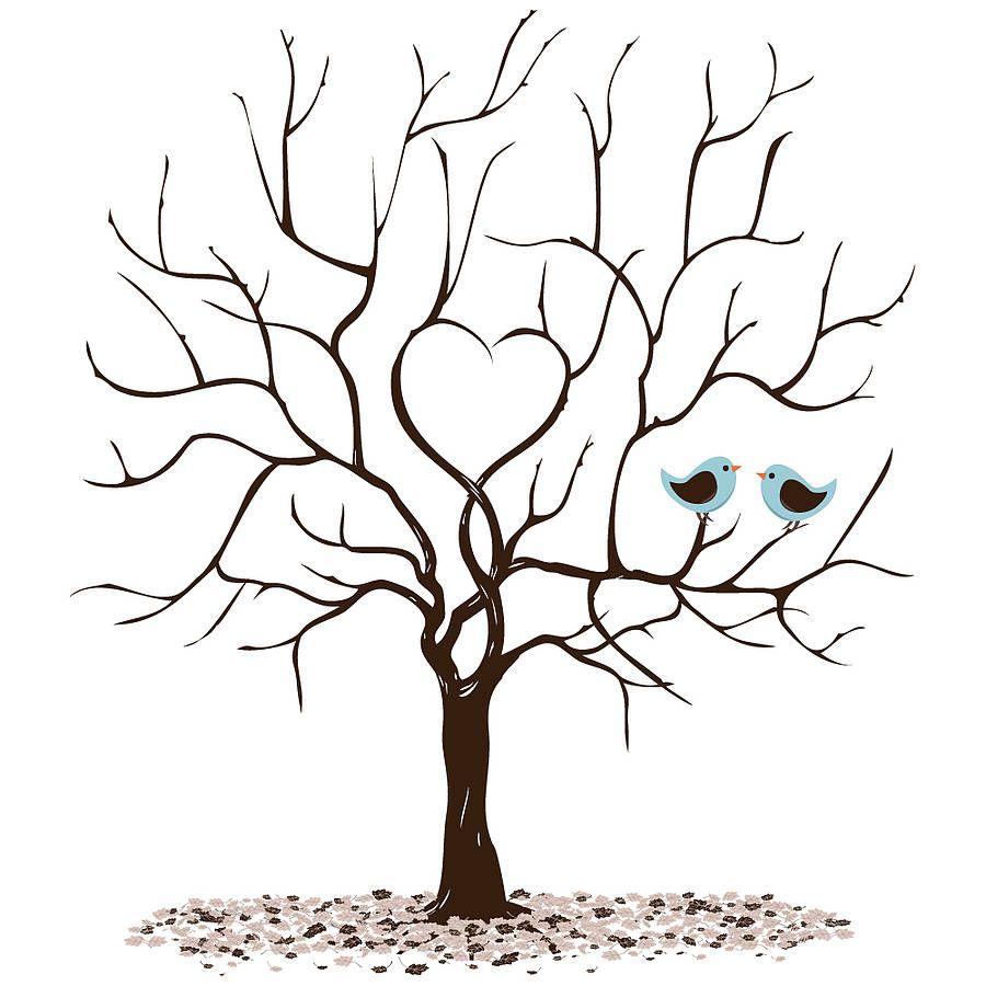personalised class leavers fingerprint tree print