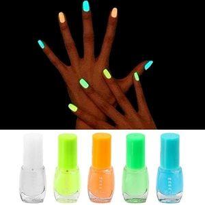 8ml Super Bright Fluorescent Non-toxic Nail Polish