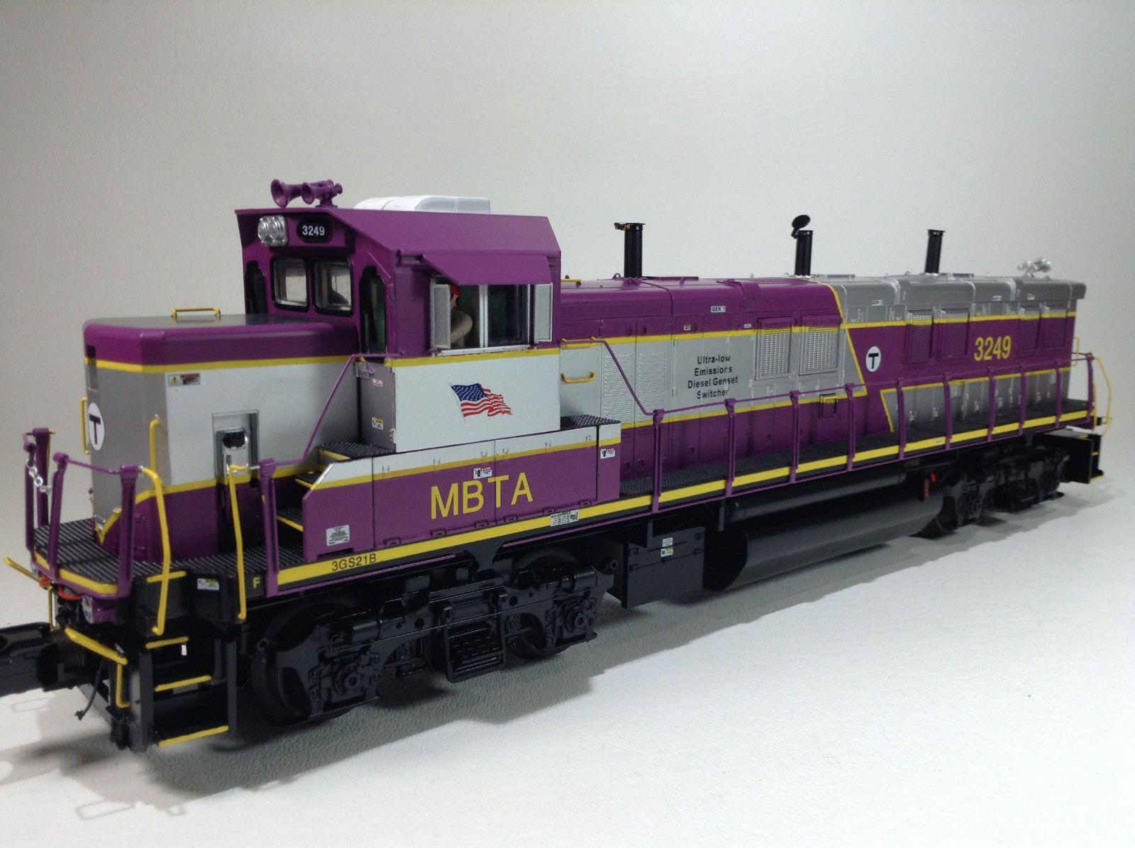 BRAND NEW MTH O Mass Bay T 3GS21B GENSET DIESEL ENGINE
