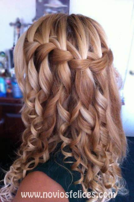 Pinterest Interests Wedding Hairstyle Ideas 1 Fashion - Peinados-con-trenzas-y-pelo-suelto