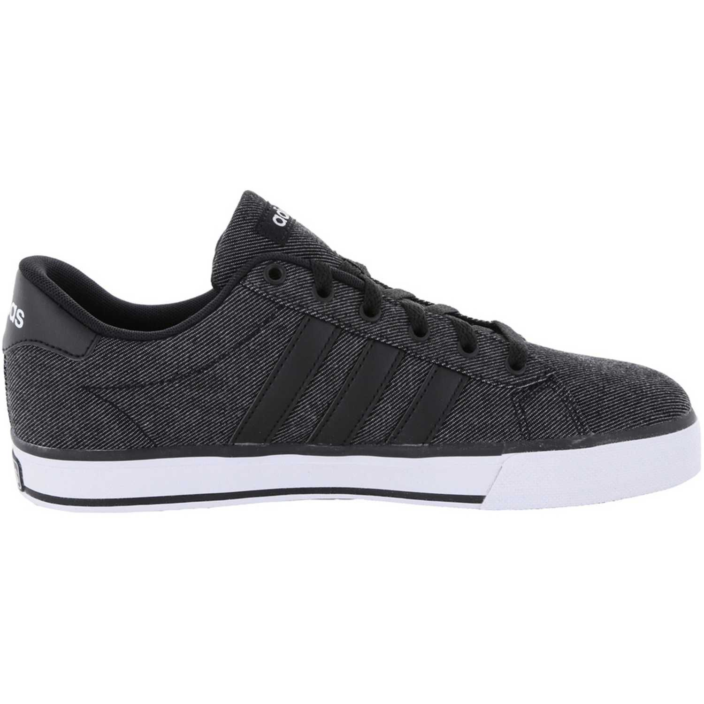 zapatos adidas color gris negro