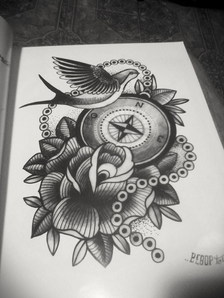 Image result for neo traditional tattoo black and grey ...