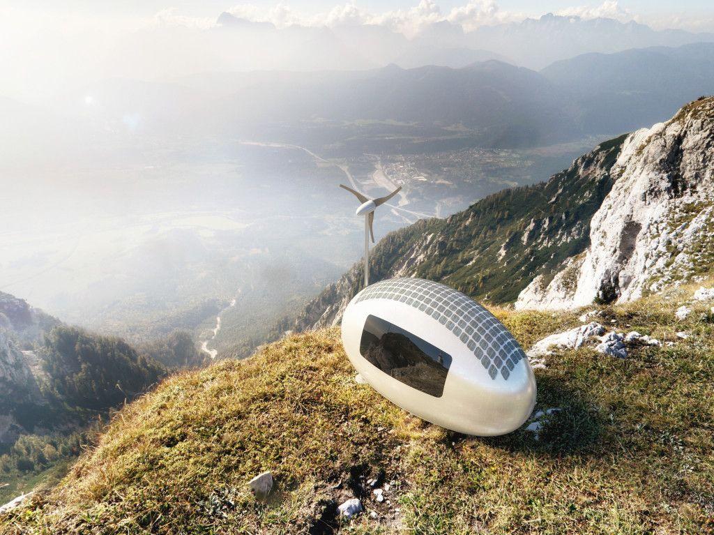 Slovenskí architekti zaujali svet sebestačným karavanom   ECOCAPSULE
