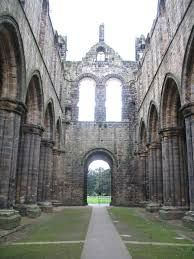 Kirkstall Abbey is a ruined Cistercian monastery in Kirkstall north-west of Leeds city centre in West Yorkshire, England. It is set in a public park on the north bank of the River Aire.