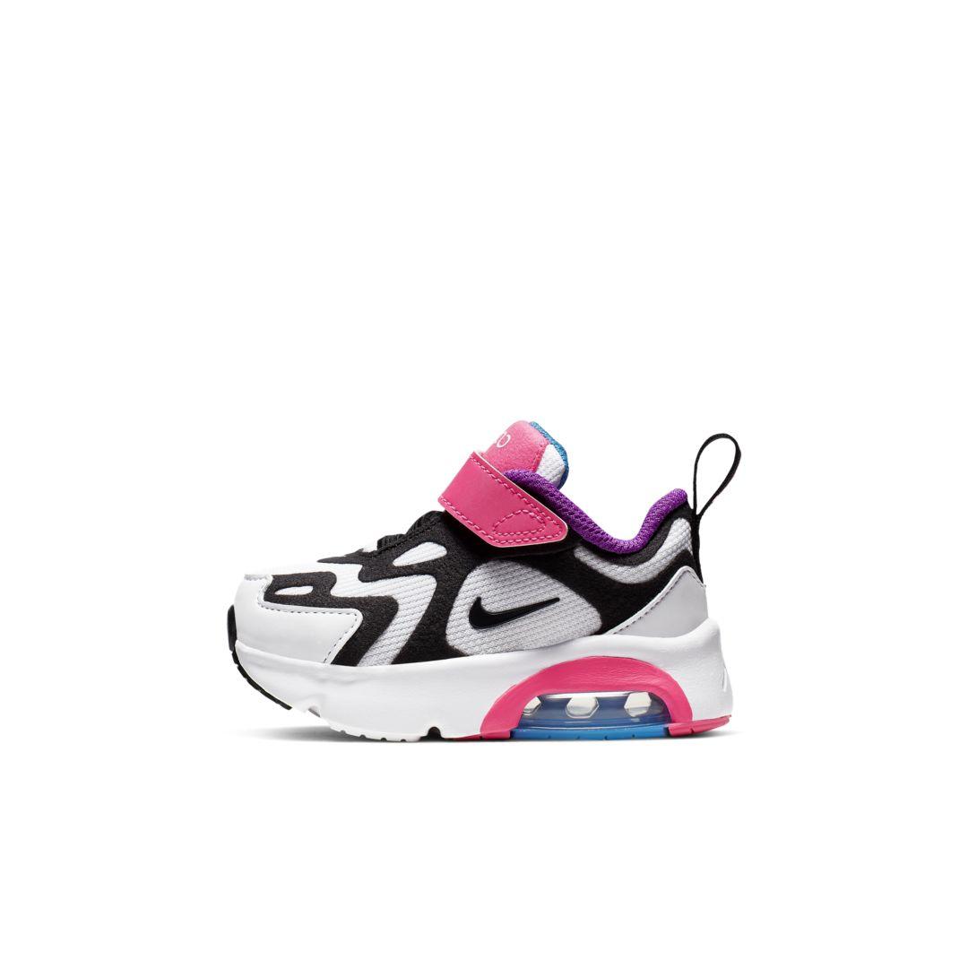 Nike Air Max 200 InfantToddler Shoe (White) | Toddler shoes