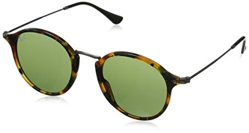 RayBan ACETATE MAN SUNGLASS  SPOTTED GREEN HAVANA Frame GREEN Lenses 49mm NonPolarized * Details can be found by clicking on the image.Note:It is affiliate link to Amazon.