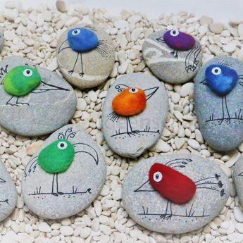 Basteln einfach ✄ Simple Crafts #smallbirds