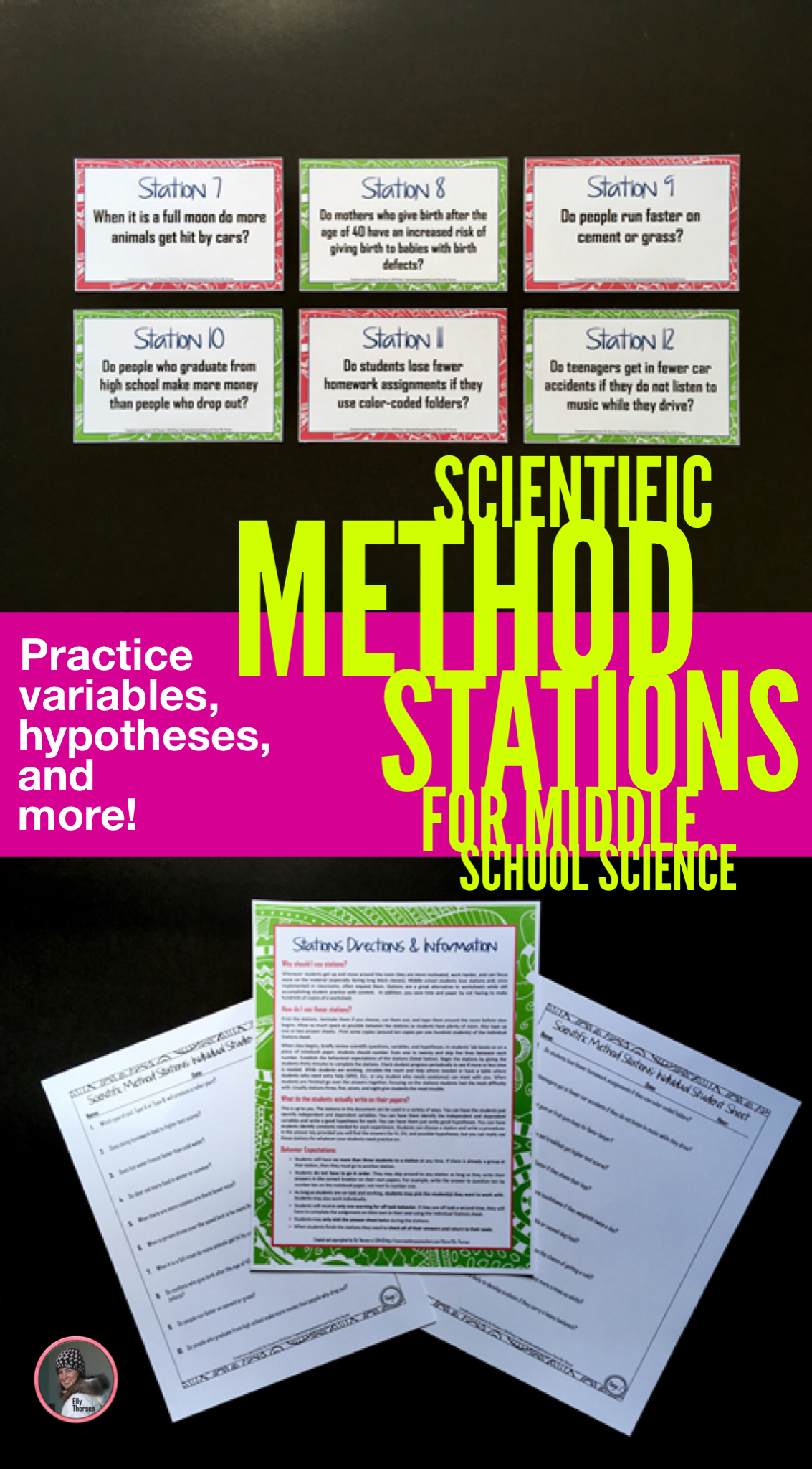 Scientific Method Stations A Versatile Activity